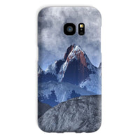 Sharped Edged Mountains Phone Case Galaxy S7 / Snap Gloss & Tablet Cases