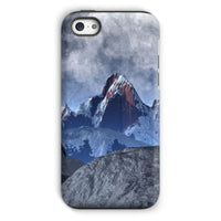 Sharped Edged Mountains Phone Case Iphone 5C / Tough Gloss & Tablet Cases
