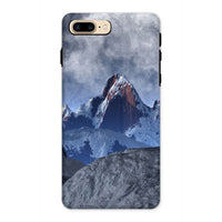 Sharped Edged Mountains Phone Case Iphone 8 Plus / Tough Gloss & Tablet Cases