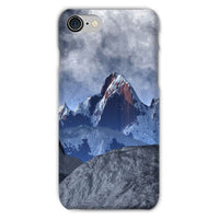 Sharped Edged Mountains Phone Case Iphone 8 / Snap Gloss & Tablet Cases