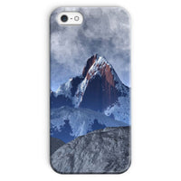 Sharped Edged Mountains Phone Case Iphone Se / Snap Gloss & Tablet Cases