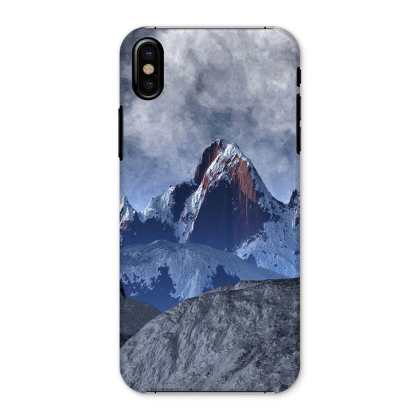 Sharped Edged Mountains Phone Case Iphone X / Snap Gloss & Tablet Cases