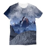 Sharped Edged Mountains Sublimation T-Shirt Xs Apparel