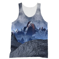Sharped Edged Mountains Sublimation Vest Xs Apparel