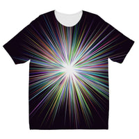 Shine Sunshine Design Kids Sublimation T-Shirt 3-4 Years Apparel