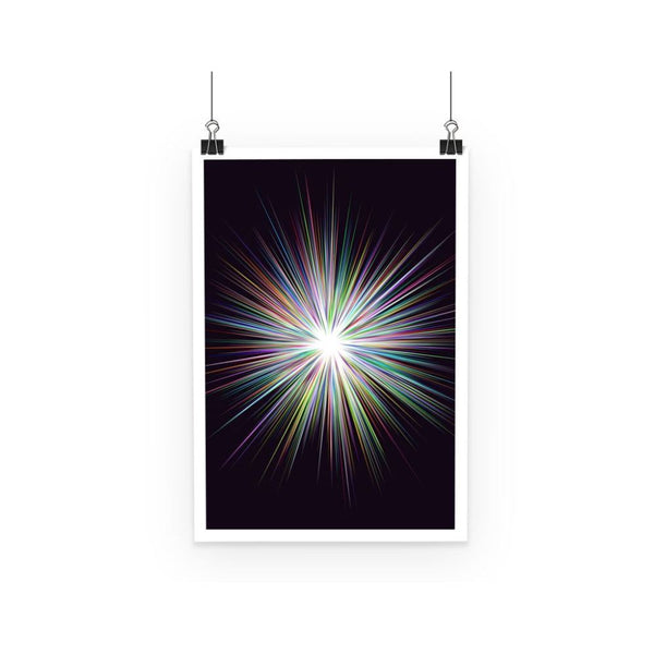 Shine Sunshine Design Poster A3 Wall Decor