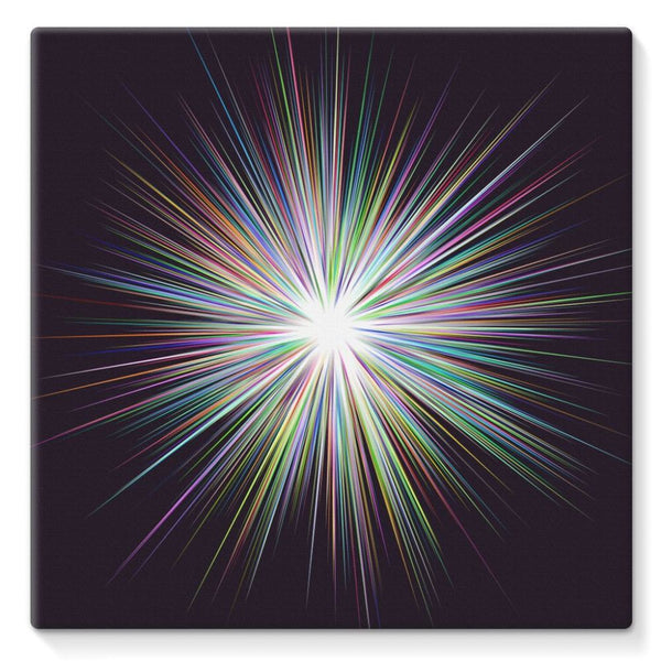 Shine Sunshine Design Stretched Eco-Canvas 10X10 Wall Decor