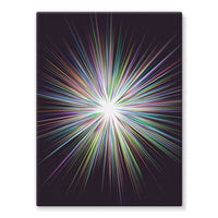 Shine Sunshine Design Stretched Eco-Canvas 18X24 Wall Decor