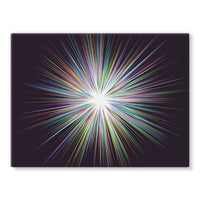 Shine Sunshine Design Stretched Eco-Canvas 24X18 Wall Decor