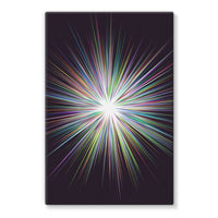 Shine Sunshine Design Stretched Eco-Canvas 24X36 Wall Decor