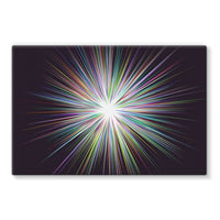Shine Sunshine Design Stretched Eco-Canvas 36X24 Wall Decor