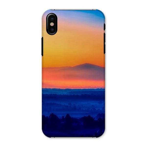 Sky With Mountain Sunset Phone Case Iphone X / Snap Gloss & Tablet Cases