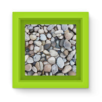 Small Stones Above The Water Magnet Frame Green Homeware