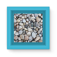 Small Stones Above The Water Magnet Frame Light Blue Homeware