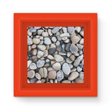 Small Stones Above The Water Magnet Frame Red Homeware