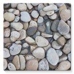 Small Stones Above The Water Stretched Canvas 10X10 Wall Decor