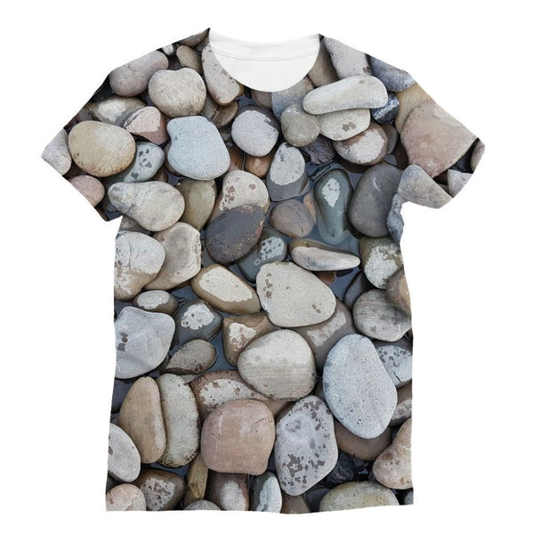Small Stones Above The Water Sublimation T-Shirt S Apparel