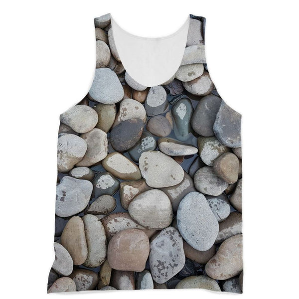 Small Stones Above The Water Sublimation Vest Xs Apparel