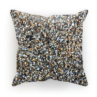 Small Stones Pattern Cushion Faux Suede / 18X18 Homeware