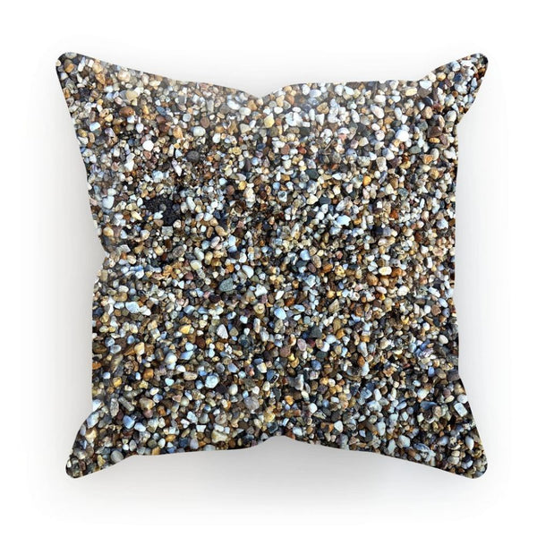 Small Stones Pattern Cushion Linen / 12X12 Homeware