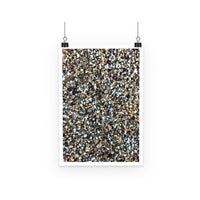 Small Stones Pattern Poster A2 Wall Decor