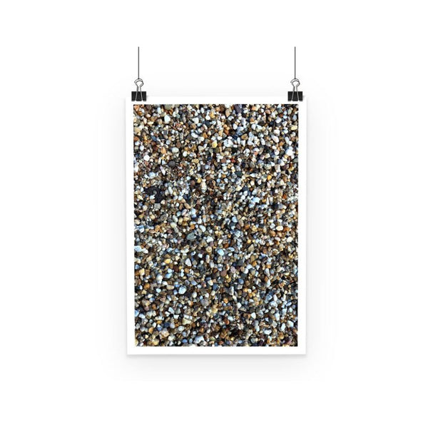 Small Stones Pattern Poster A3 Wall Decor