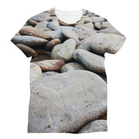 Smooth Pebbels On River Bank Sublimation T-Shirt S Apparel