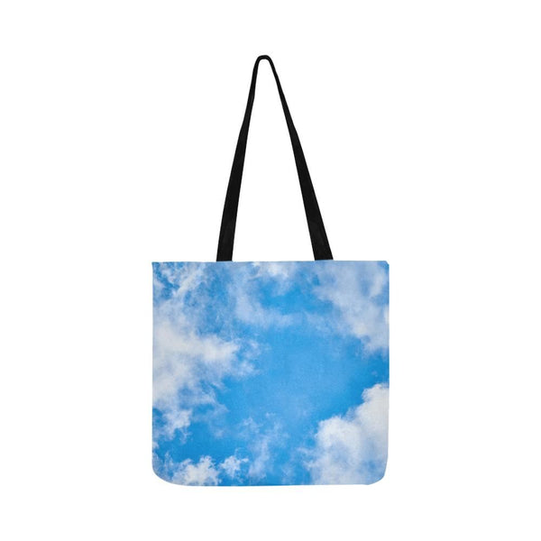 Summer Clouds Reusable Tote Shopping Bag (Two Sides) (1660)