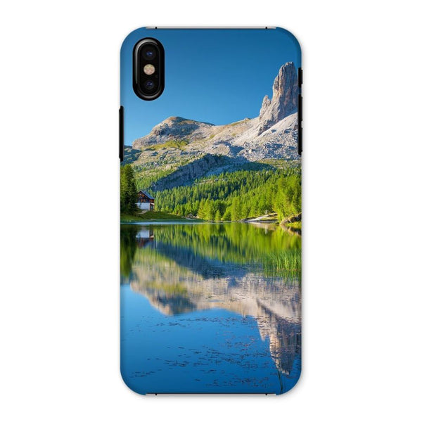 Summer Mountain Reflection Phone Case Iphone X / Snap Gloss & Tablet Cases