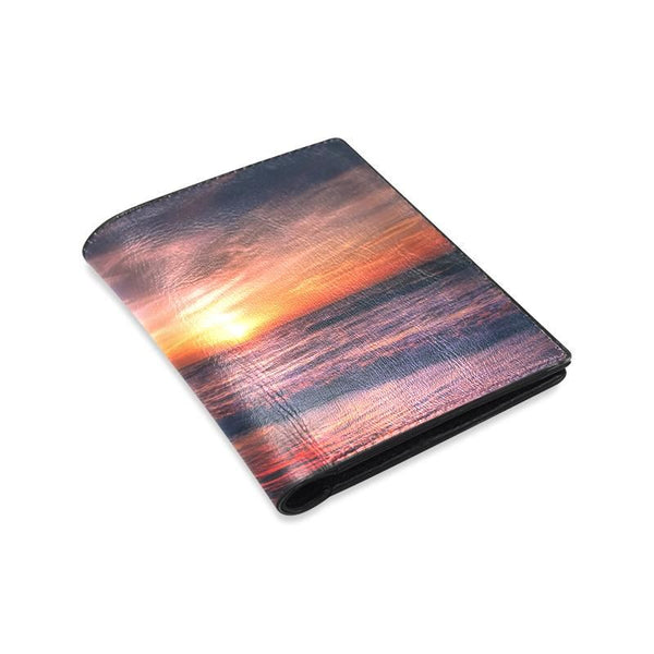 Summer Sunset Mens Leather Wallet (1612)