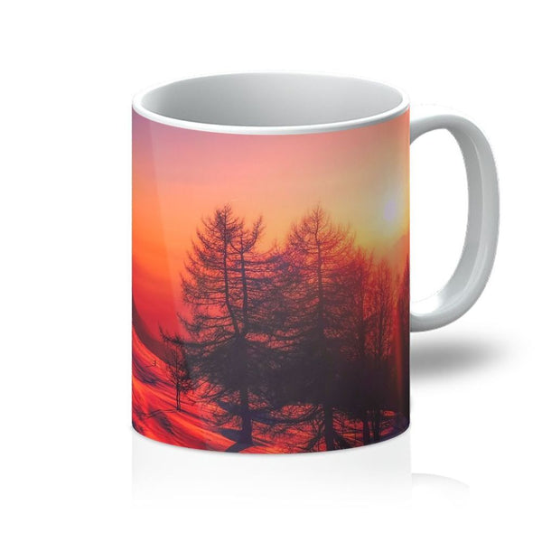 Sunset View On Mountain Mug 11Oz Homeware