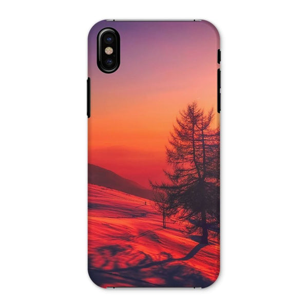Sunset View On Mountain Phone Case Iphone X / Snap Gloss & Tablet Cases
