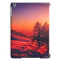 Sunset View On Mountain Tablet Case Ipad Air Phone & Cases