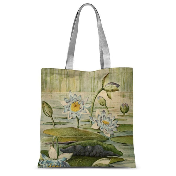The Waterlilies 1905 Sublimation Tote Bag 15X16.5 Accessories