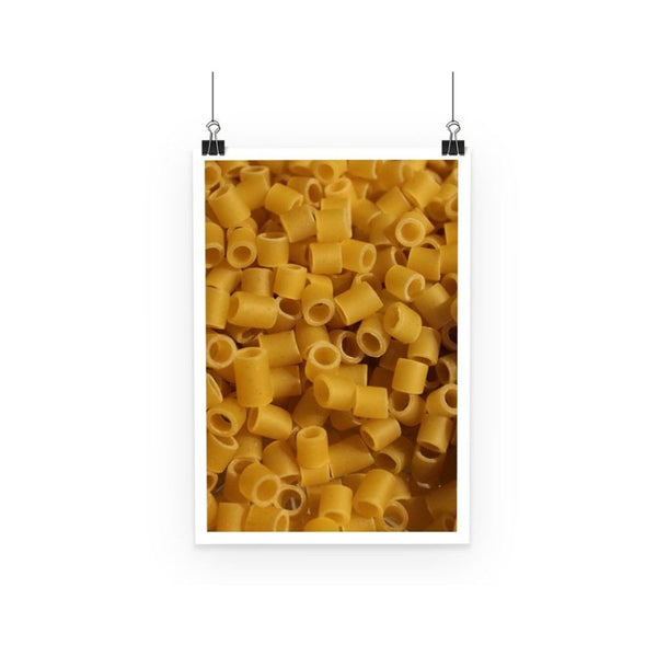 Tiny Pasta Pattern Poster A3 Wall Decor