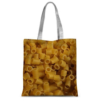 Tiny Pasta Pattern Sublimation Tote Bag 15X16.5 Accessories