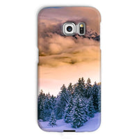Trees Covered With Mountain Phone Case Galaxy S6 Edge / Snap Gloss & Tablet Cases