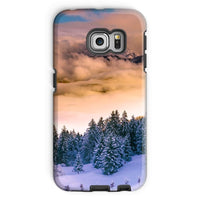 Trees Covered With Mountain Phone Case Galaxy S6 Edge / Tough Gloss & Tablet Cases