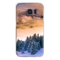 Trees Covered With Mountain Phone Case Galaxy S6 / Snap Gloss & Tablet Cases