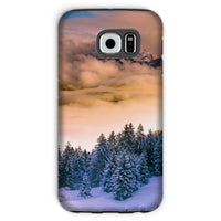 Trees Covered With Mountain Phone Case Galaxy S6 / Tough Gloss & Tablet Cases