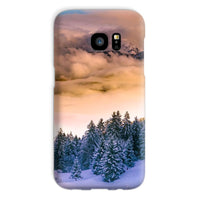 Trees Covered With Mountain Phone Case Galaxy S7 / Snap Gloss & Tablet Cases