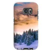 Trees Covered With Mountain Phone Case Galaxy S7 / Tough Gloss & Tablet Cases