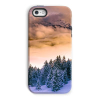Trees Covered With Mountain Phone Case Iphone 5/5S / Tough Gloss & Tablet Cases