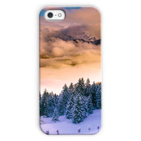 Trees Covered With Mountain Phone Case Iphone 5C / Snap Gloss & Tablet Cases
