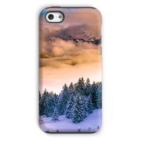 Trees Covered With Mountain Phone Case Iphone 5C / Tough Gloss & Tablet Cases