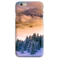 Trees Covered With Mountain Phone Case Iphone 6S / Snap Gloss & Tablet Cases