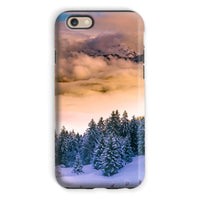 Trees Covered With Mountain Phone Case Iphone 6S / Tough Gloss & Tablet Cases