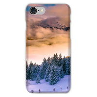 Trees Covered With Mountain Phone Case Iphone 8 / Snap Gloss & Tablet Cases