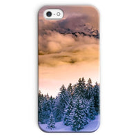 Trees Covered With Mountain Phone Case Iphone Se / Snap Gloss & Tablet Cases