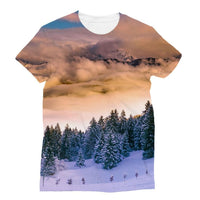 Trees Covered With Mountain Sublimation T-Shirt Xs Apparel